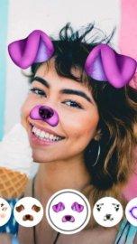 Маски для лица на камеру: фото смайликов, стикеры