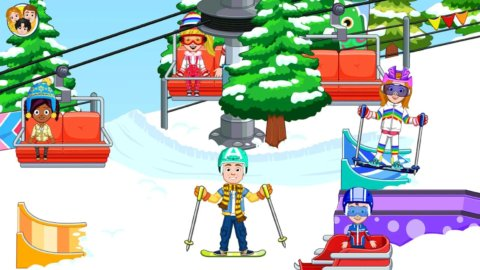 My City: горнолыжный курорт