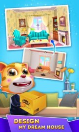Cat Runner: Decorate Home