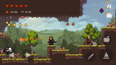 Apple Knight: Action Platformer