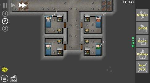 Going Deeper! - Симулятор строительства колонии