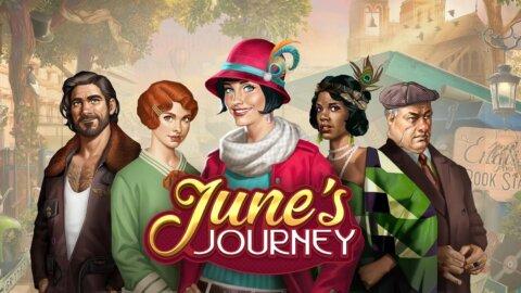 June's Journey: найди предметы