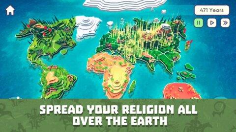 God Simulator. Sandbox strategy game Religion Inc